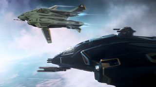Harbinger and Sentinel flying in formation.jpg
