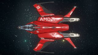 Mustang Omega in space - Above.jpg