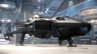 Star Citizen- F7C-S Hornet Ghost in hangar.png