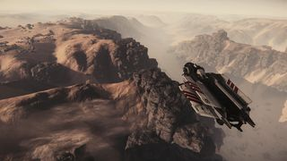 Aurora MR flying over canyon on Daymar.jpg