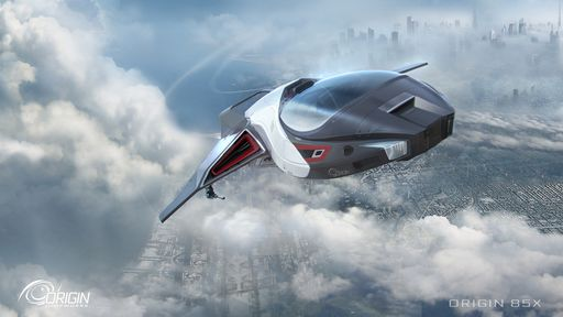 85X - Flying through clouds over city - Front Starboard.jpg