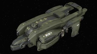 Starfarer Gemini in space - Isometric.jpg
