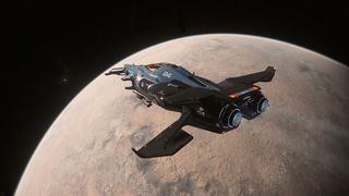 Razor flying over Daymar - Isometric Rear.jpg