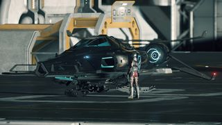 Razor EX on Olisar pad with player.jpg