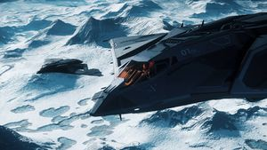 Eclipse x2 in formation over Yela.jpg