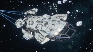 Andromeda flying from Station - Front Starboard.jpg