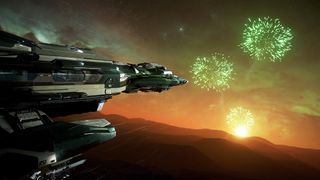 Constellation Phoenix Emerald looking at fireworks.jpg